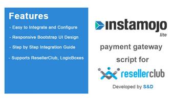 ResellerClub Instamojo Payment Gateway PHP Script (LITE Version) Thumbnail