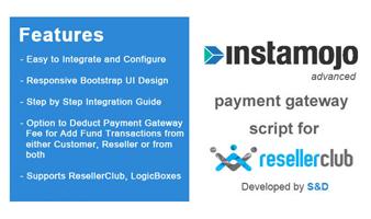 ResellerClub Instamojo Payment Gateway PHP Script Thumbnail
