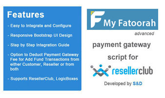 ResellerClub MyFatoorah Payment Gateway PHP Script Thumbnail