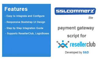 ResellerClub SSLCommerz Payment Gateway PHP Script (LITE Version) Thumbnail