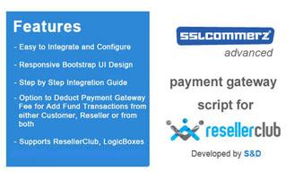 ResellerClub SSLCommerz Payment Gateway PHP Script Thumbnail