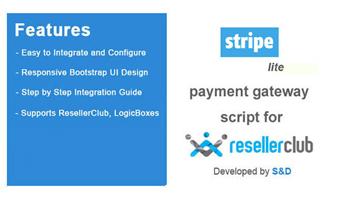 ResellerClub Stripe Payment Gateway PHP Script (LITE Version) Thumbnail